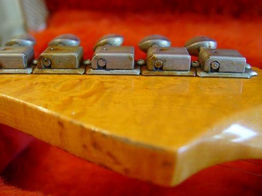 Rust Birdseye Headstock Fender Custom Shop Relic Stratocaster