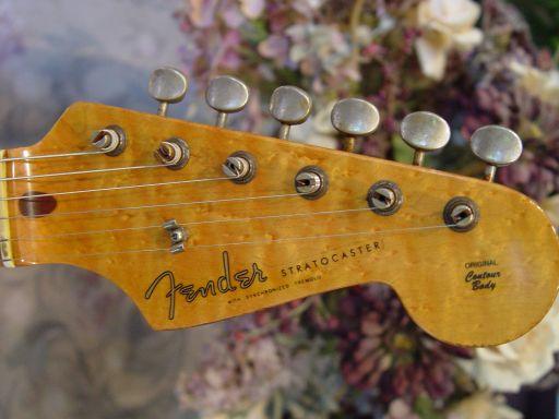Birdseye Maple Headstock Fender Custom Shop Relic Stratocaster