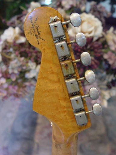 Rusted Ping Tuners Relic Stratocaster Fender Guitar