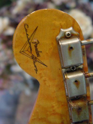 Birdseye Logo Rust Tuners Fender Custom Shop Relic Stratocaster
