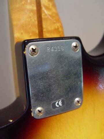 Reissue Fender Custom Shop Relic Stratocaster
