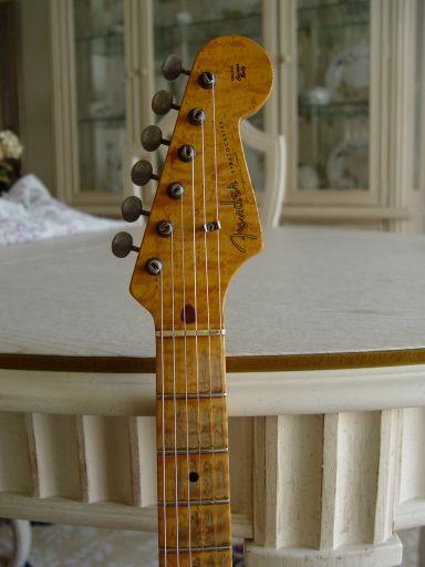 Birdseye Maple Neck Headstock Fender Custom Shop Relic Stratocaster