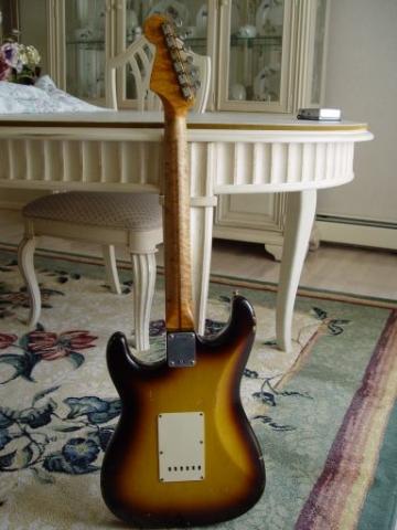 Birdseye Fender Custom Shop Relic Stratocaster