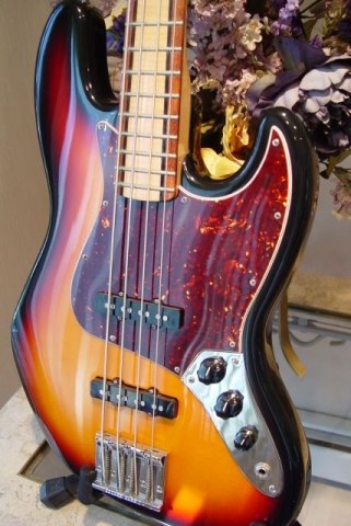 Fender Jazz Bass Custom Shop Masterbuilt Neck