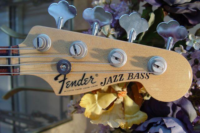 Fender Jazz Bass Custom Shop Masterbuilt Neck Headstock Tuners