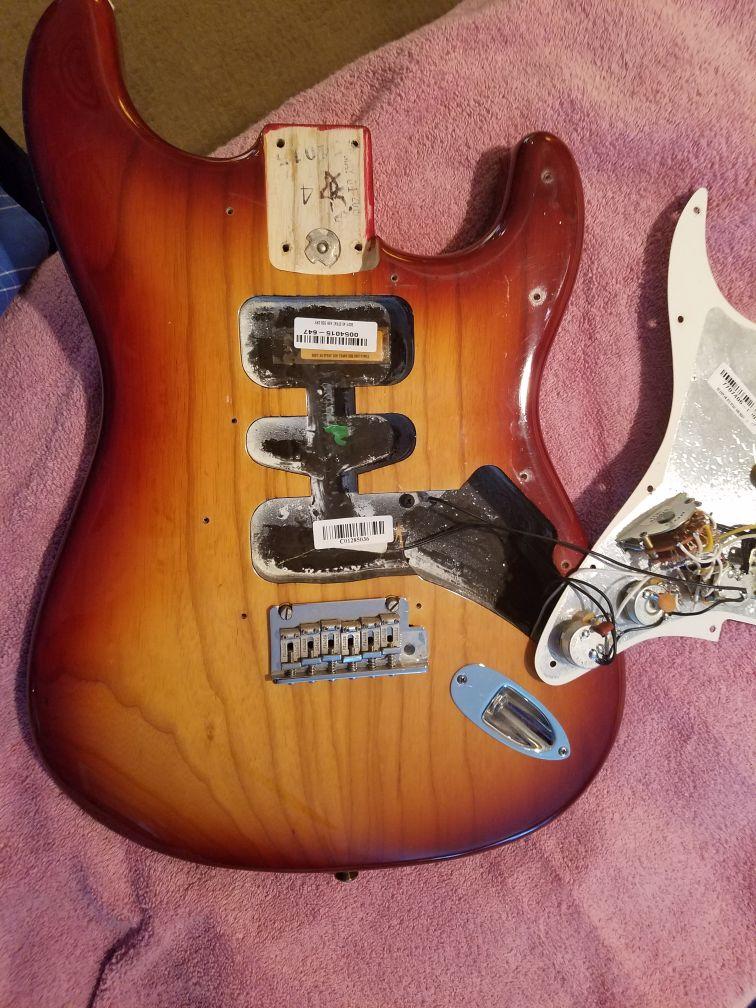 Body Fender American SSH Shawbucker Stratocaster-Professional