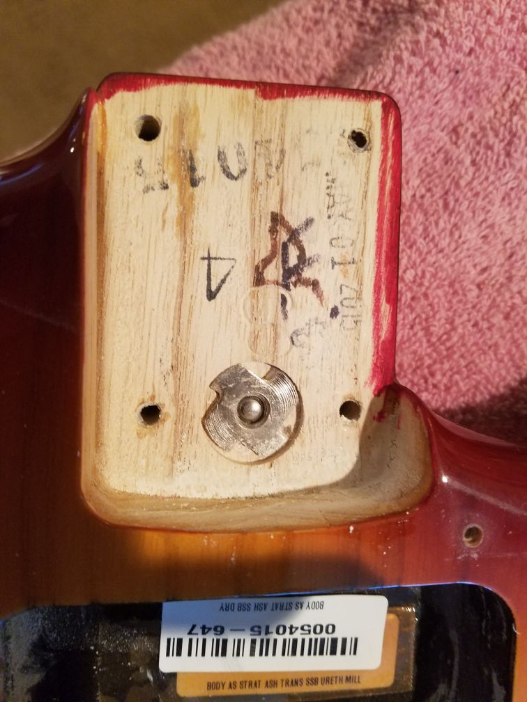 Fender Sienna Burst Stratocaster-Professional