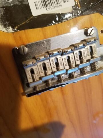 2 Point Trem Vintage Fender American Stratocaster-Professional