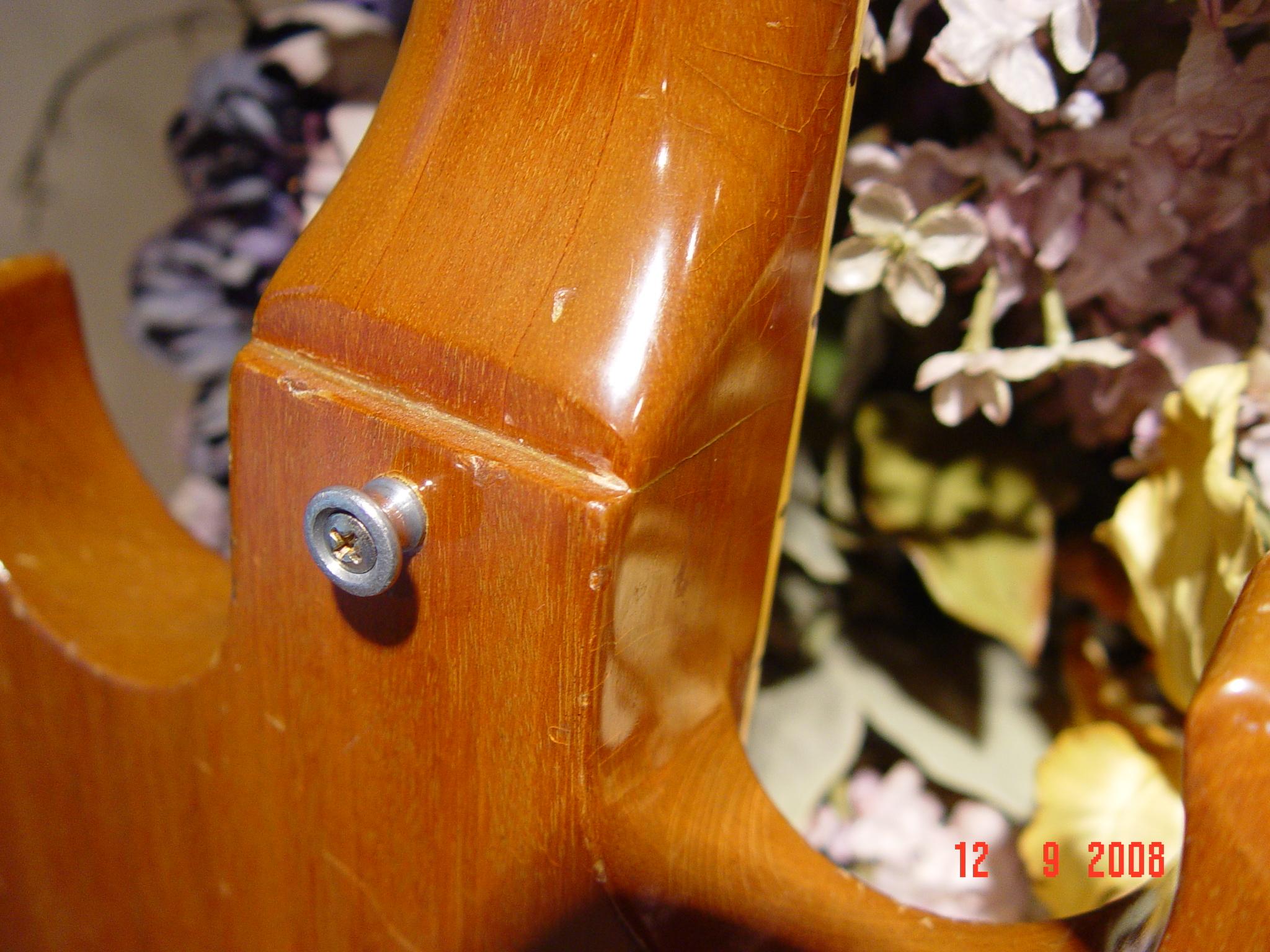Guitar Strap Button Vintage Gibson SG Deluxe