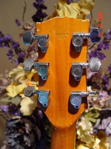 Gibson Norlin Era Neck Heel Added Wood
