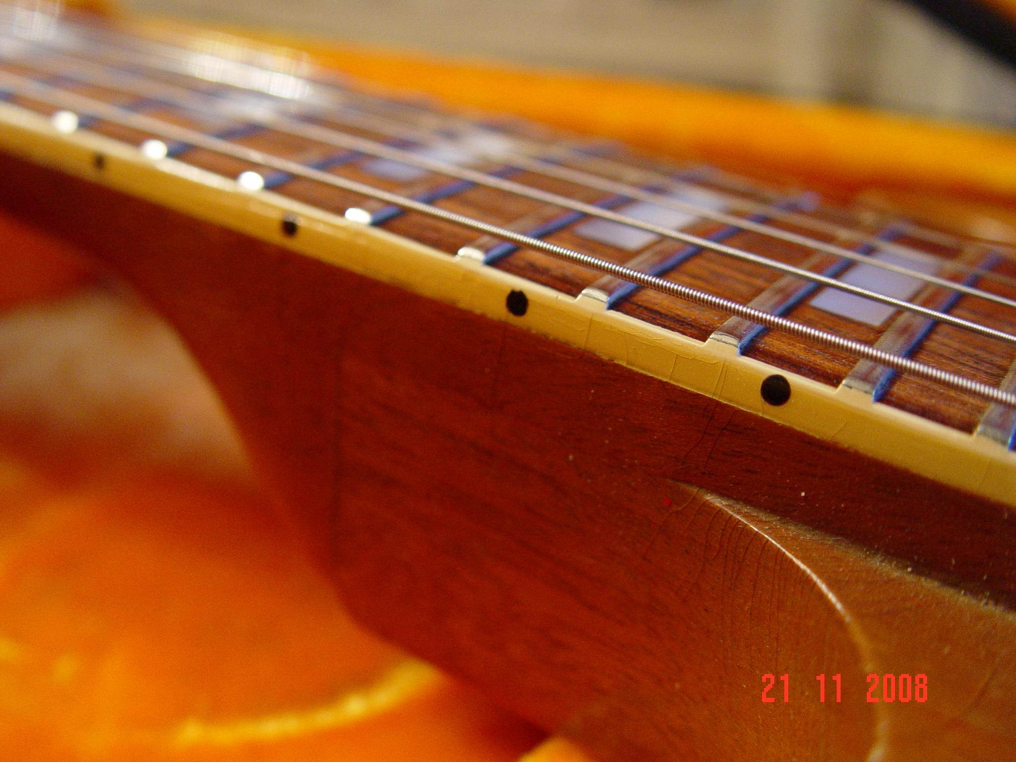 Fretless Wonder Fretboard Vintage Gibson SG Deluxe