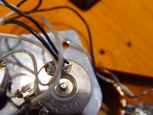 Fender Jazz Bass Volume Pot Tone Potentiometer Wiring