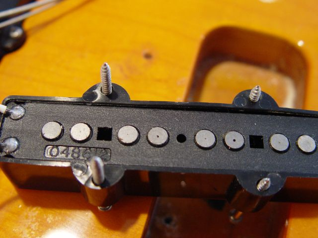Fender Jazz Bass pickup