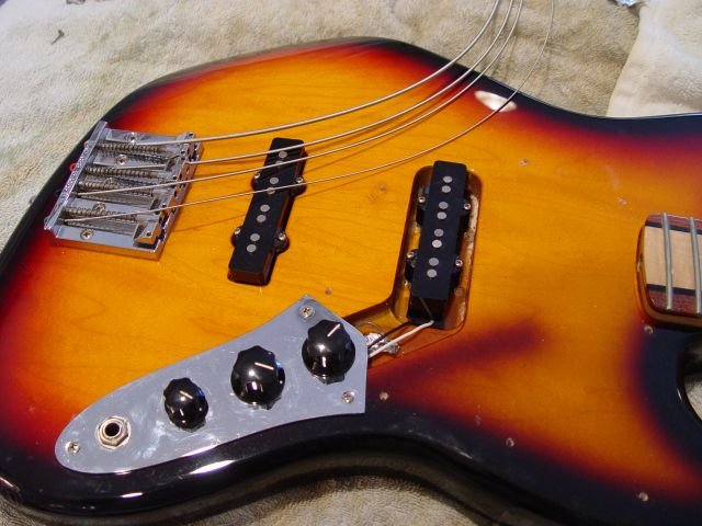 Fender Jazz Bass Body