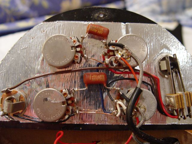 Pickguard Wiring Pots Vintage Gibson SG Deluxe
