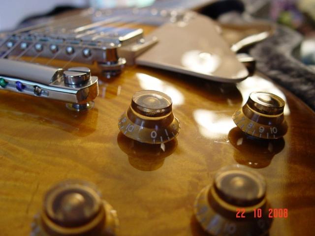 Controls Gibson LP5 Standard Les Paul Plus