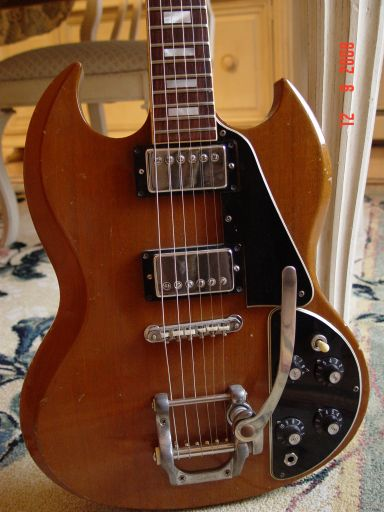 1978 Gibson SG Deluxe Bigsby Tremolo Witch Hats