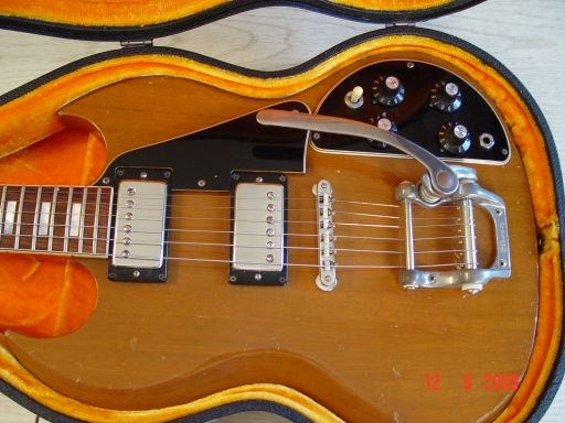 Humbuckers1978 Gibson SG Deluxe Bigsby Tremolo Witch Hats