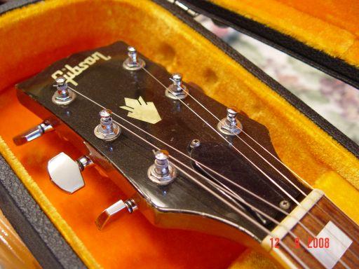 Headstock Vintage Gibson SG Deluxe