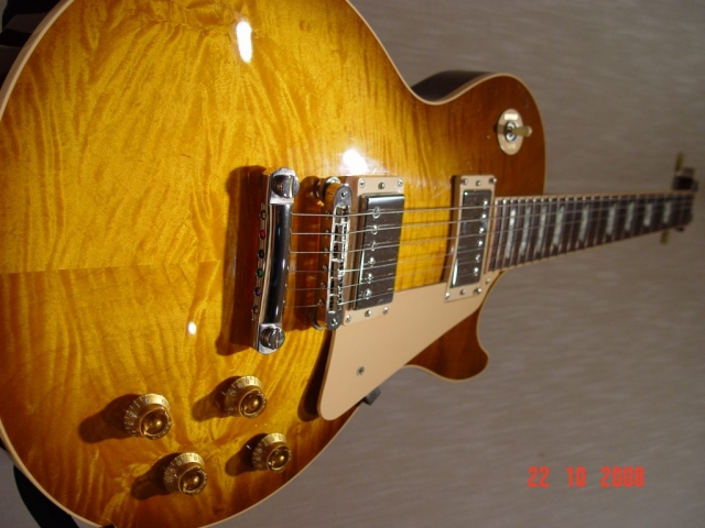 AAA Flame Maple Top Gibson LP5 Standard Les Paul Plus