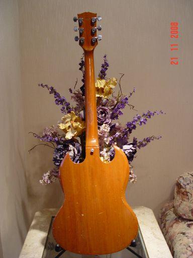 Rear Norlin Vintage Gibson SG Deluxe