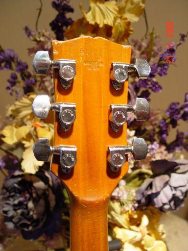 Norlin Headstock Heel Vintage Gibson SG Deluxe