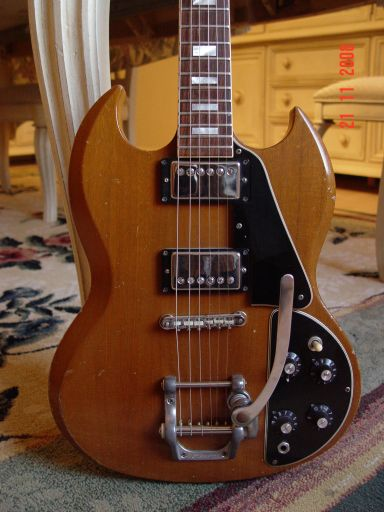 Vintage Gibson SG Deluxe Bigsby