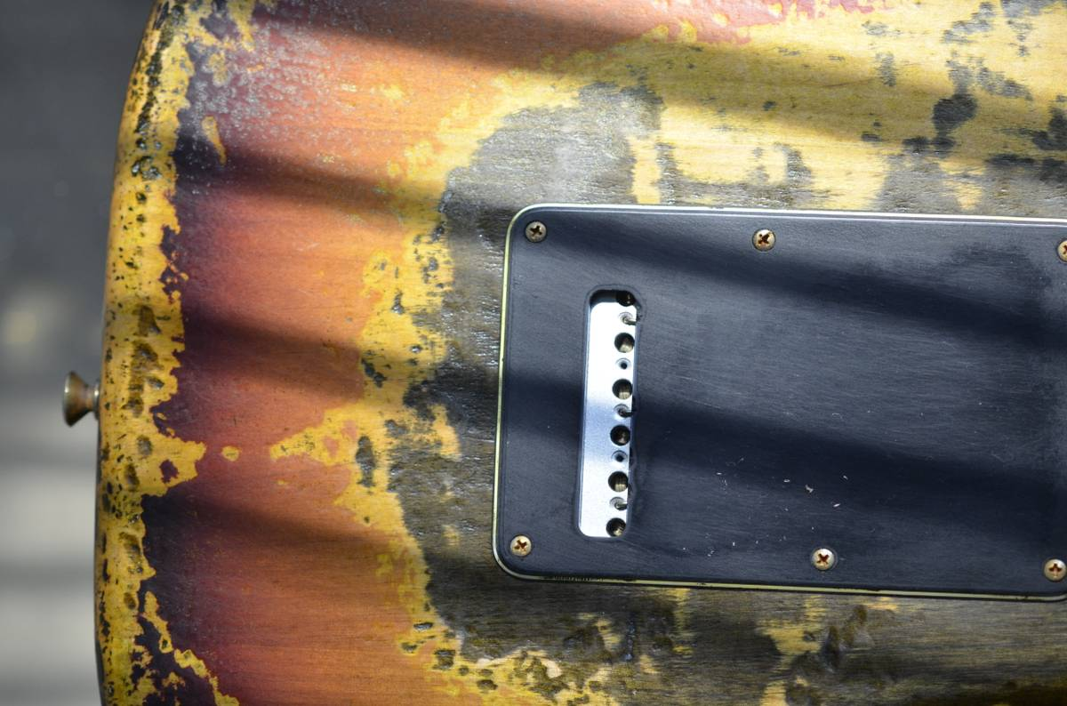 Fender Stratocaster Sunburst Heavy Relic Nitro