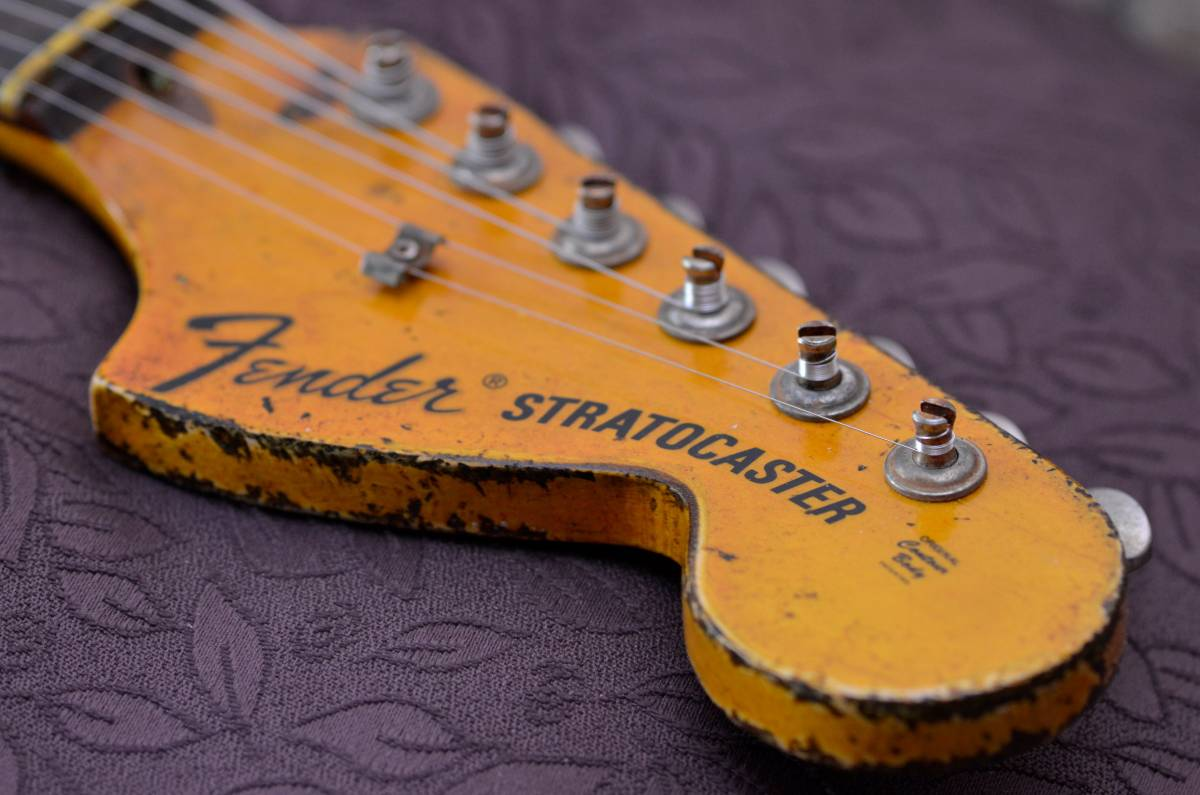 Fender Heavy Relic Headstock
