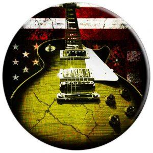 Guitar American Flag Popsocket