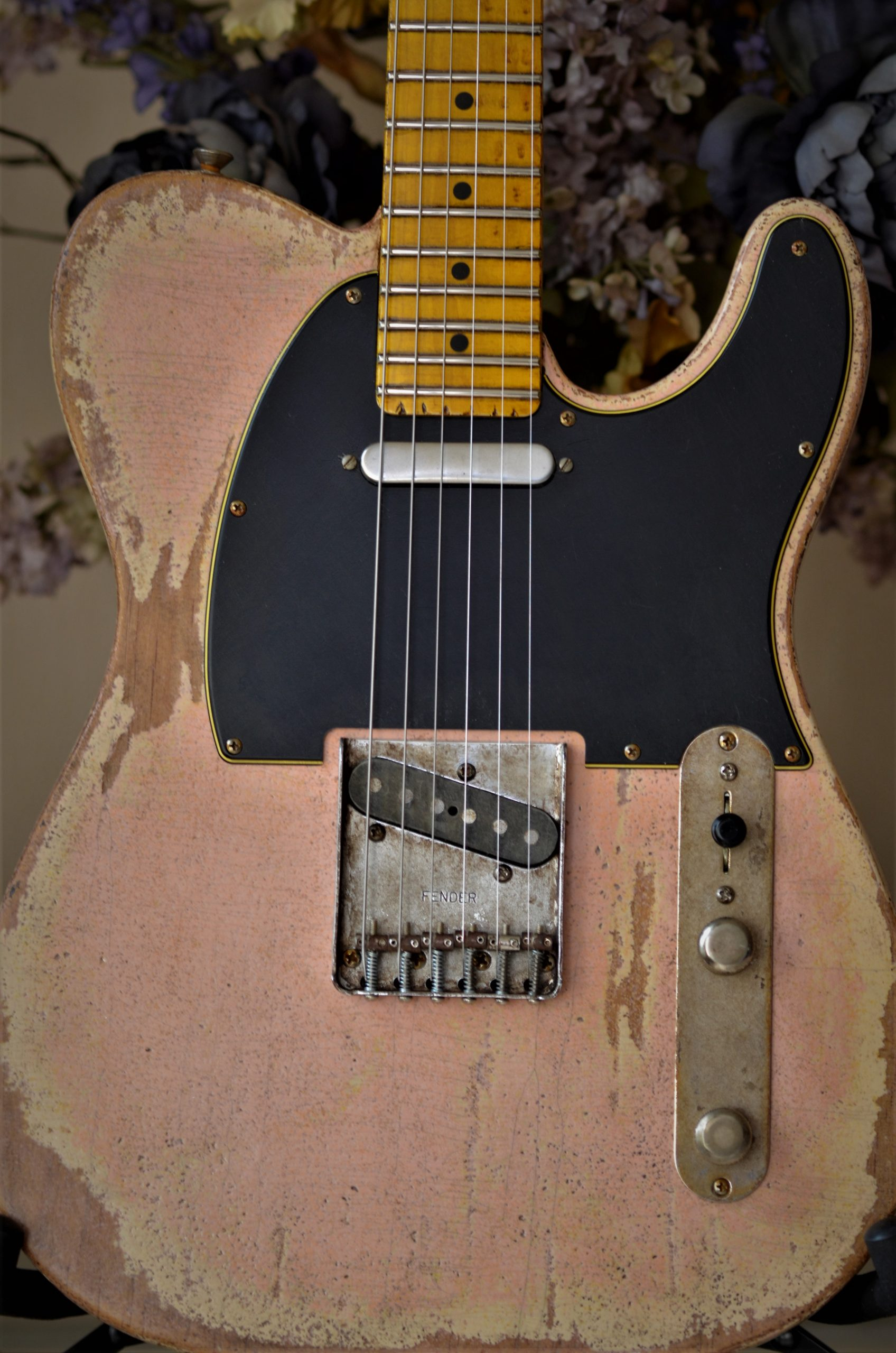 Shell Pink Telecaster Relic