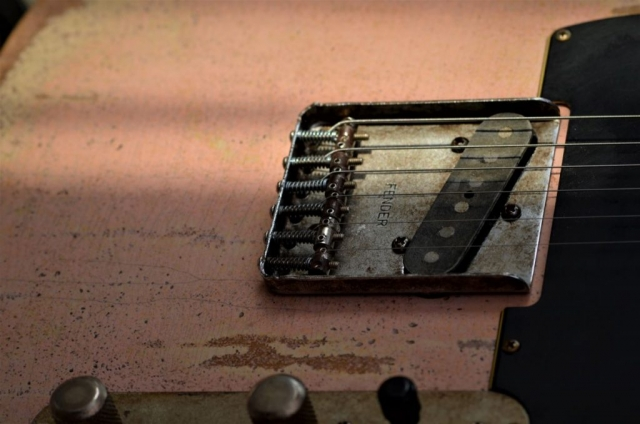 Shell Pink Telecaster Relic Guitar
