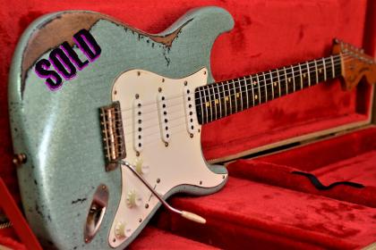Fender Strat Relic Sea Foam