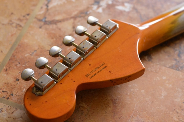 Ping 2018 Fender American Special Headstock Neck Aged