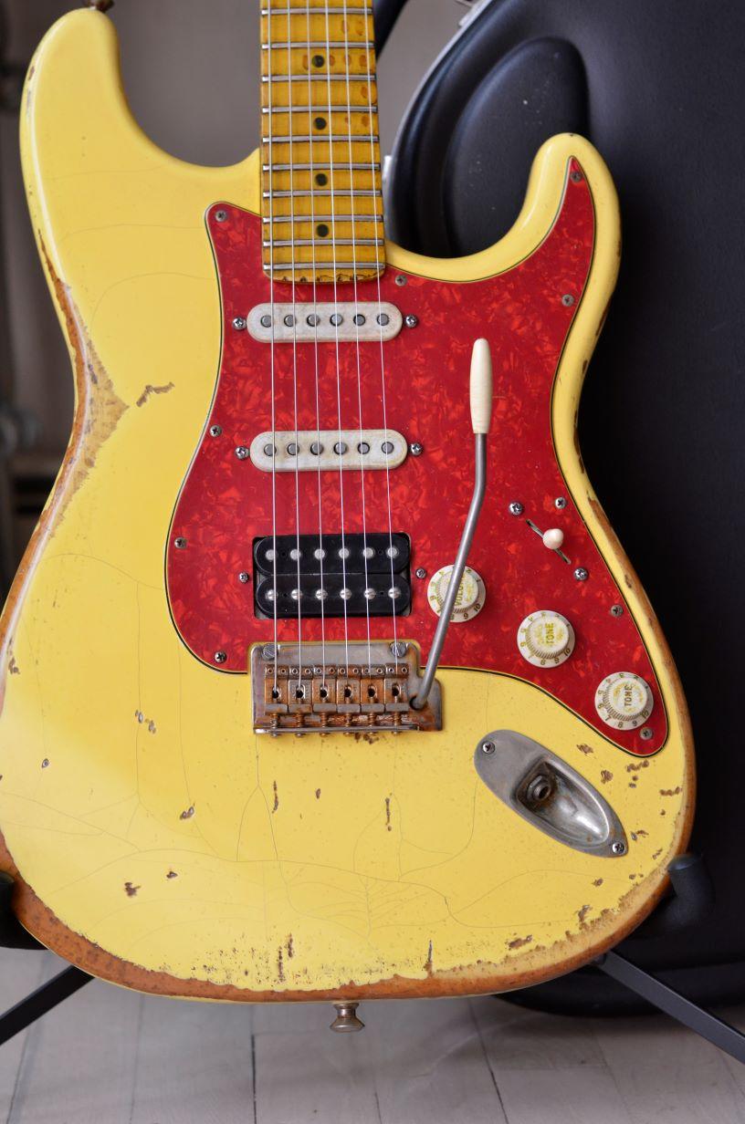 Fender Stratocaster Heavy Relic Vintage White
