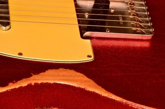 Fender Telecaster Custom Red Sparkle