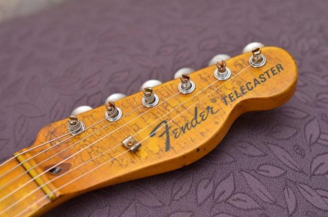 Fender Telecaster Custom Aged Headstock