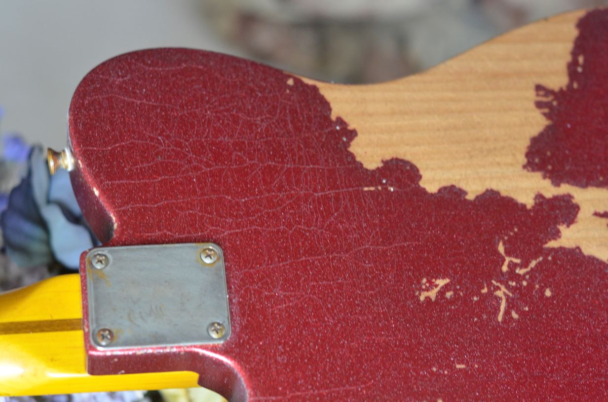 Fender Telecaster Custom Sparkle Relic Lacquer Checking