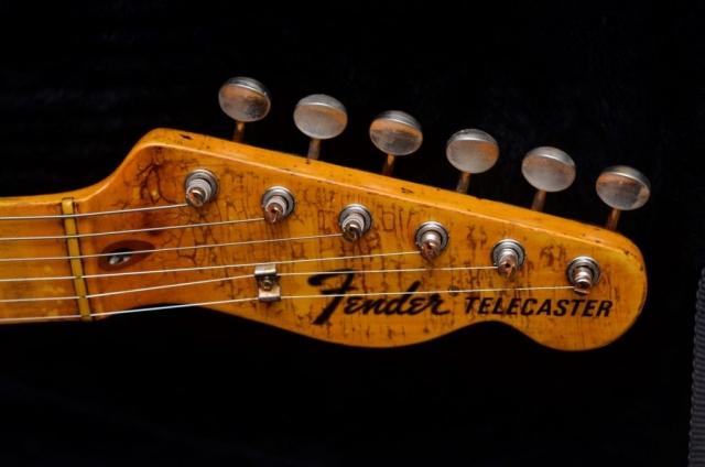 Fender Telecaster Custom Aged Headstock Checking