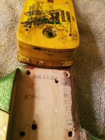 Fender Stratocaster Neck Pocket