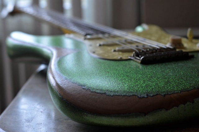 Fender Stratocaster Heavy Relic Metal Flake