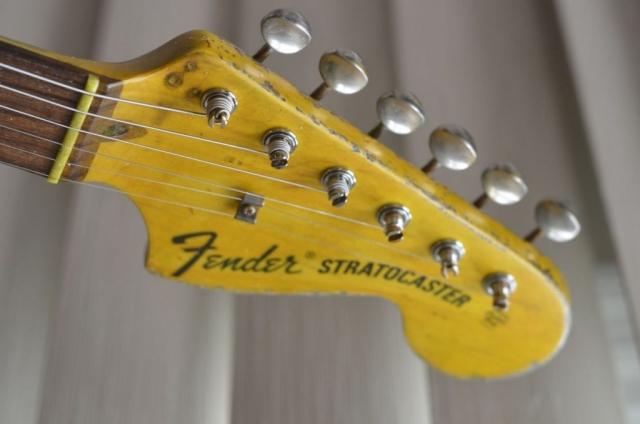 Fender Stratocaster Heavy Relic Large Headstock