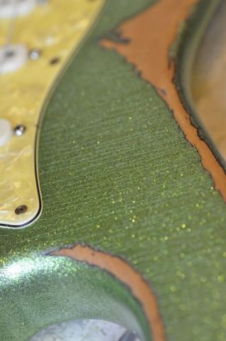 Fender Stratocaster Heavy Relic Finish Checking