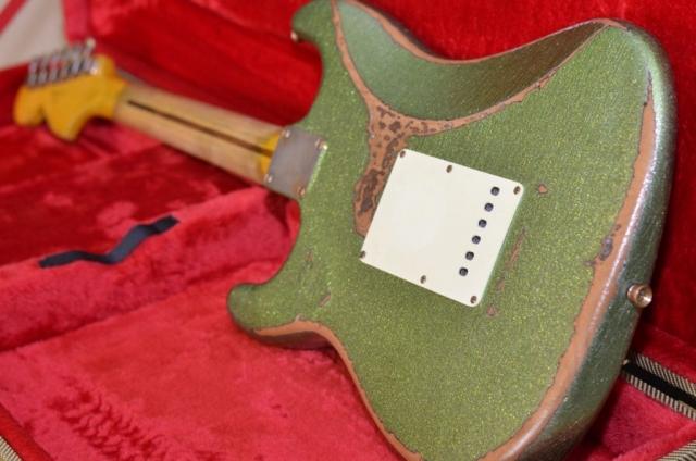 Fender Stratocaster Heavy Relic Lime Green