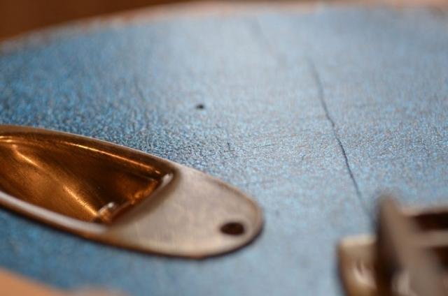 Fender Custom Stratocaster Relic Jack plate