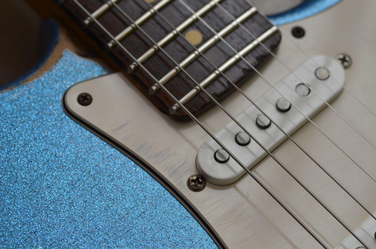 Fender Stratocaster Heavy Relic SSS pickup