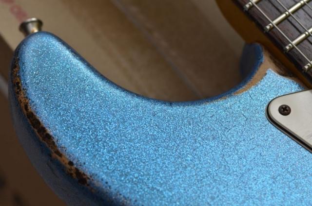 Fender Custom Stratocaster Relic Wear Pattern