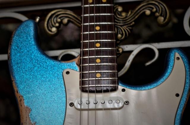 Fender Stratocaster Custom Heavy Relic Rosewood Neck