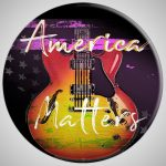 America Matters Patriotic US Flag Guitar