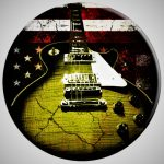Relic Guitar American Flag Pop Socket